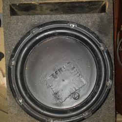 1 - Single Ported Pre Fab 12 Inch Box.  1 - Bass Reflex High Output Duel 12 Inch Box. Thumbnail
