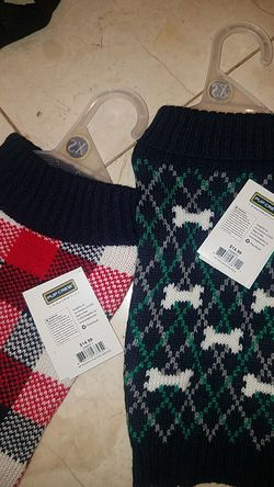Xs dog sweaters and harness Thumbnail