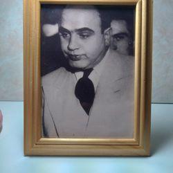 Vintage Black & White Alphonse Capone Picture  Thumbnail