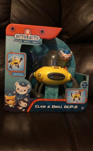 Octonauts Claw and Drill GUP-D for Sale in Winter Haven, FL