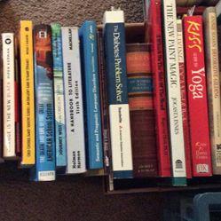Various Book Titles. .50 - $1.00 Each.  Thumbnail