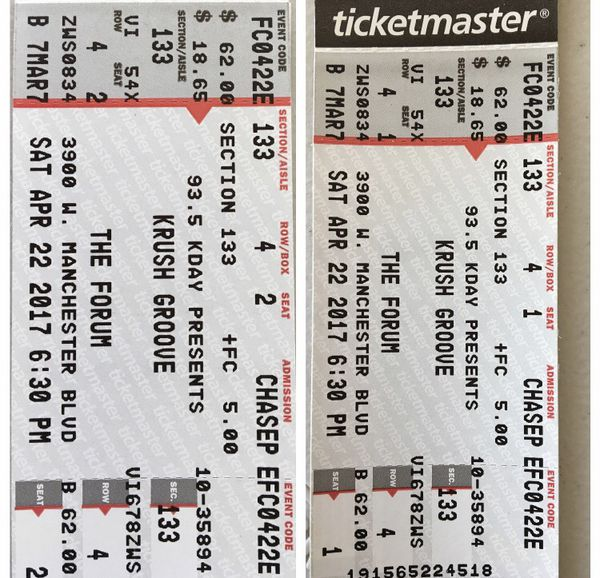krush groove 2020 tickets