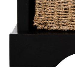 Lonan Black Storage Bench Thumbnail