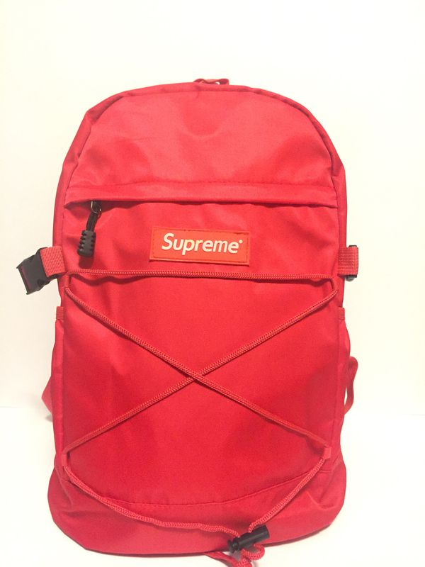 Supreme 210 Denier Cordura Backpack Red