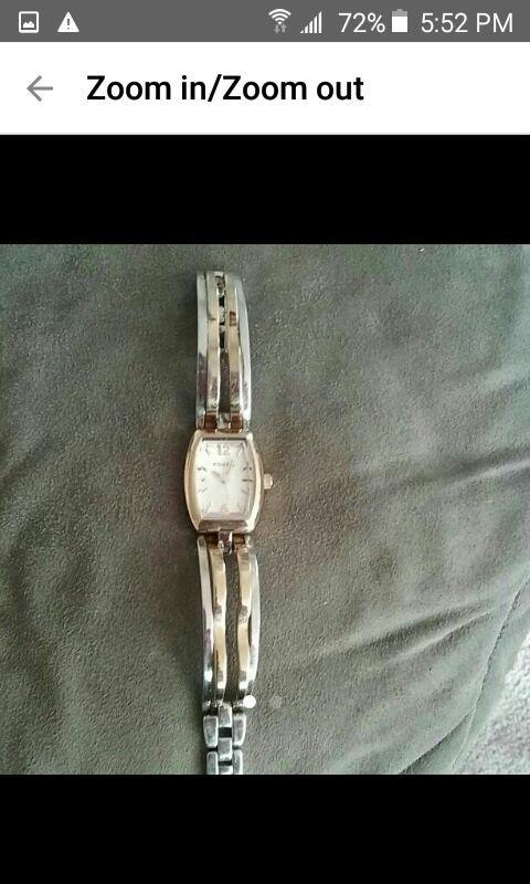 Vintage woman fossil bracelet watch es 201 9
