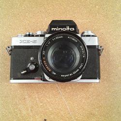 Vintage Minolta XE-5 Camera For Parts Thumbnail