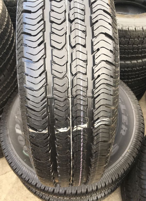 225 75 16 Goodyear Wrangler Stseminew All 4 Tires Have 96 Of Life