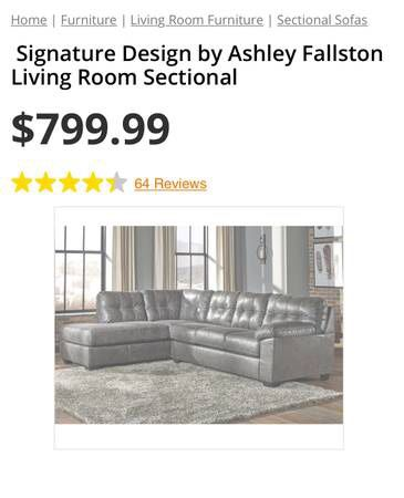 Ashley Sectional Wottoman For Sale In Salt Lake City Ut Offerup