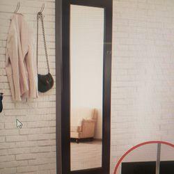 Daniil Wall Mounted Jewelry Armoire With Mirror Thumbnail