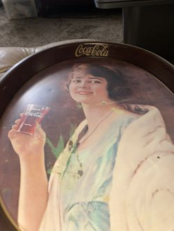 Coca-cola Drink Table Plate  Thumbnail