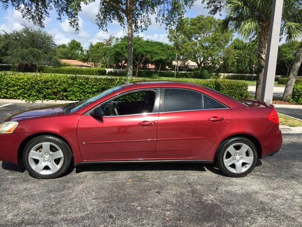 2008 Pontiac G6 Cold A C New Tires Excellent Transportation Battery Cars Trucks In Pompano Beach Fl Offerup