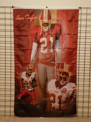 Sean Taylor Washington Redskins Banner NFL for Sale in Manassas, VA