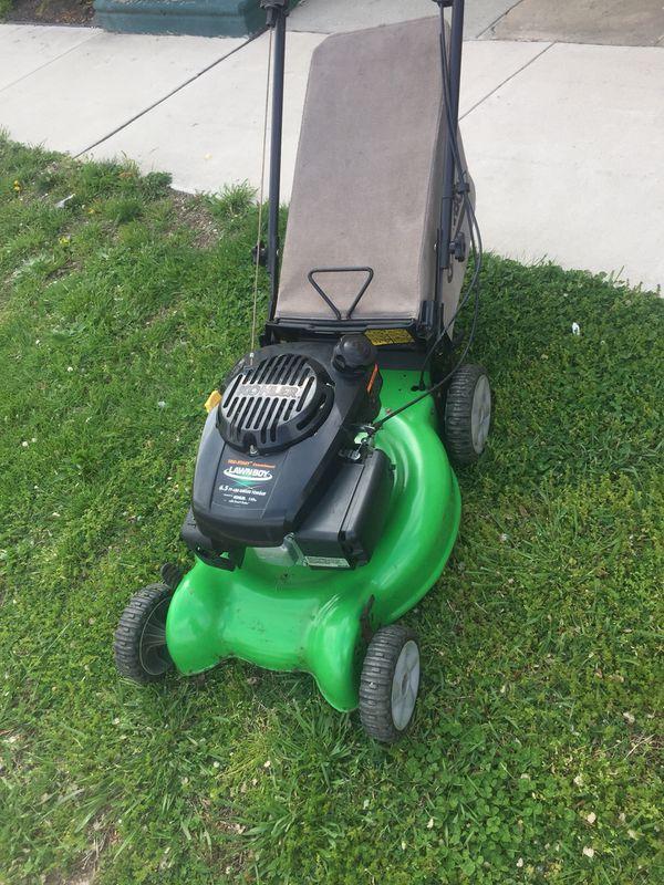 Lawn Boy Self Propel Lawn Mower W Bag Starts And Runs