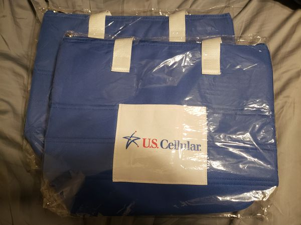 Cooler Bags Set Of 2 With Us Cellular Logo For Sale In