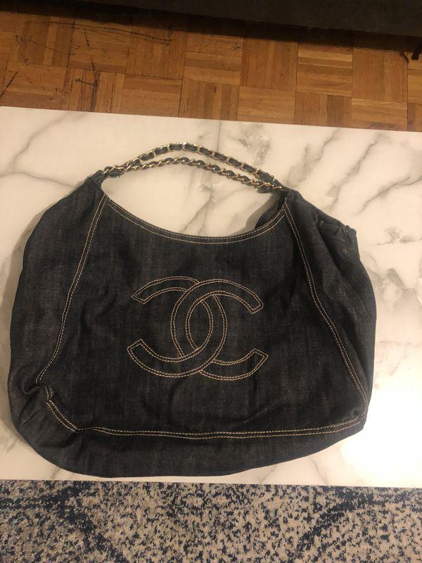 87dabcd2ca8b Chanel Coco Cabas Cabas Super Large Travel Blue Denim Shoulder Bag ...