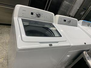 Photo Maytag bravos washer & dryer set in white