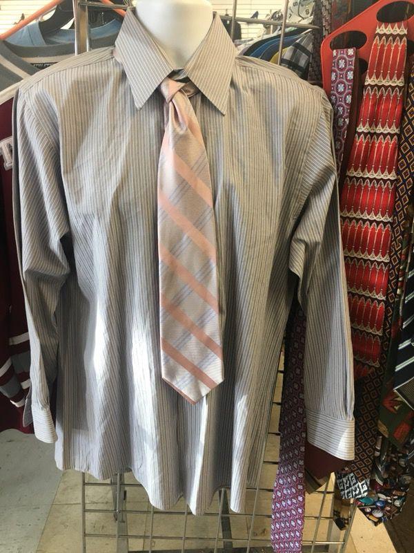 Calvin Klein Mens Suit Shirt