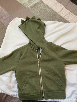 Boy Old Navy Dinosaur hoodie Thumbnail