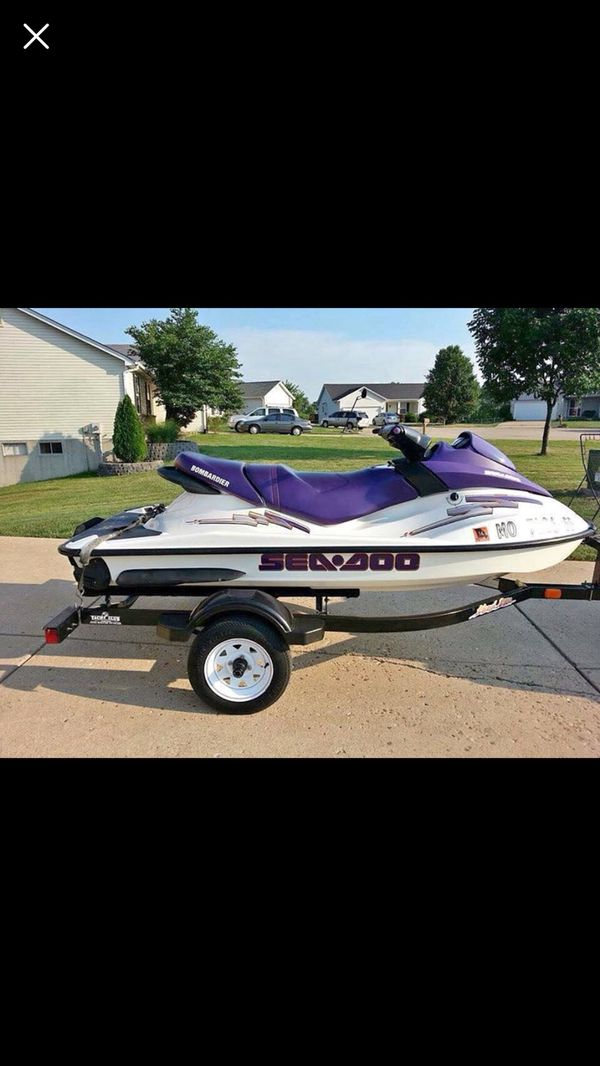 2003 Seadoo Gti With 2005 Easy Load Trailer