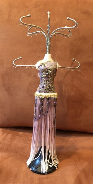 Dress figurine necklace/jewelry stand for Sale in Chantilly, VA