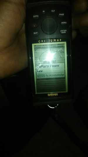 Garmin GPS 12 map for Sale in Bakersfield, CA