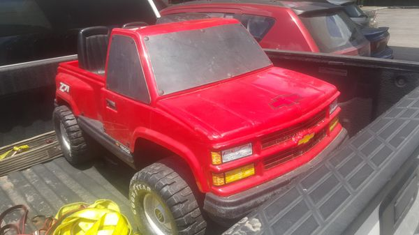 Chevy Power Wheels >> Rare Power Wheels Chevy Z71 For Sale In Houston Tx Offerup