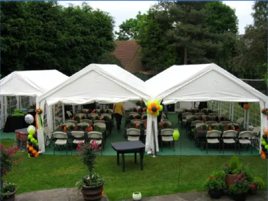 New PARTY TENT 13 x 26 ft. White PE