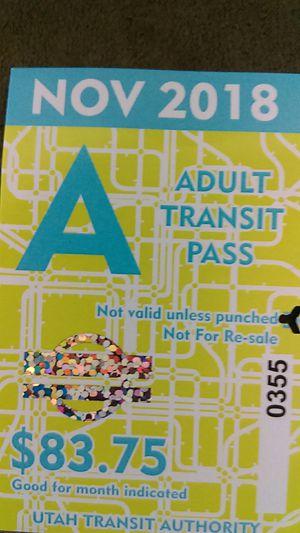 Pass pass for Sale in Murray, UT