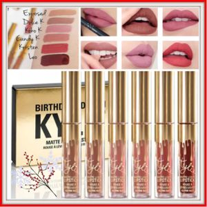 Kylie Jenner mini mattes birthday edition lipstick set for Sale in Silver Spring, MD