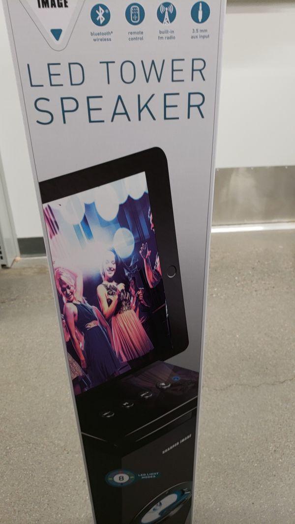 Sharper Image Led Tower Speaker Sbt 1031 For Sale In Chandler Az