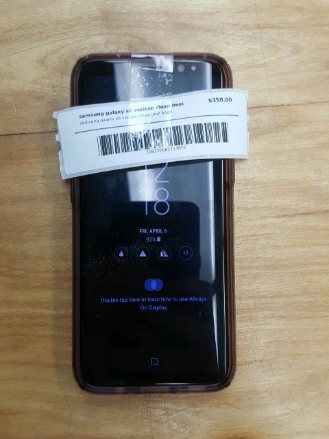Samsung Galaxy s8 Verizon clean IMEI for Sale in Daytona Beach, FL - OfferUp