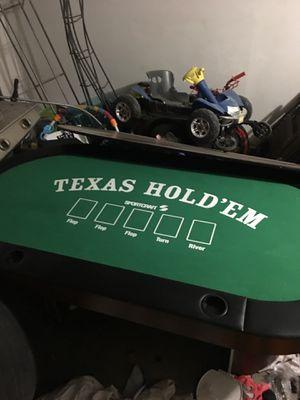 Poker table for Sale in Glendale, AZ