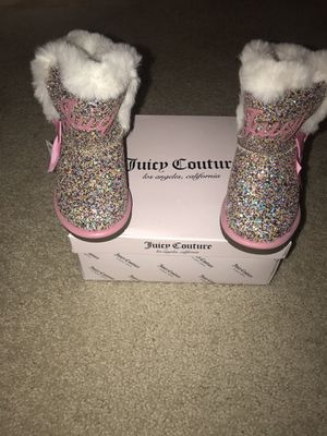 Juicy Couture Toddler Boots Size 9 for Sale in Rockville, MD