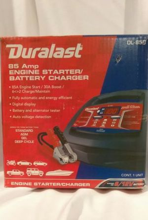 Duralast Battery Charger Instructions
