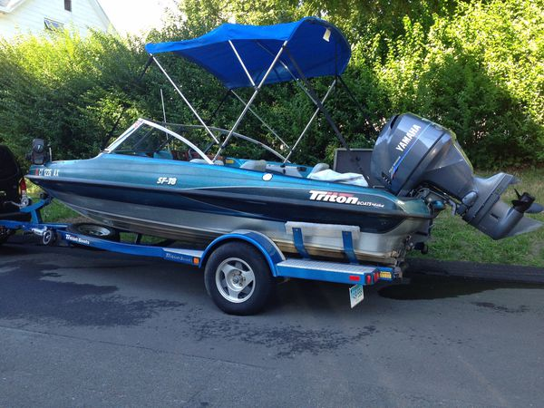 2001 Triton Fishing Boat Fully Loaded For Sale In Danbury Ct Offerup