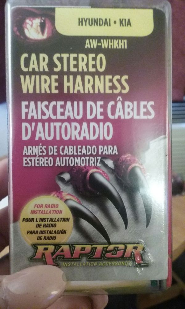Raptor Car Stereo Wire Harness on