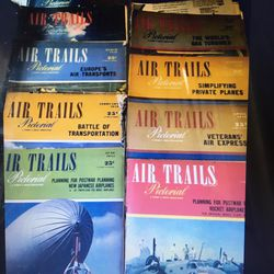 Vintage Air Trails Pictorial Magazine 38 Issues From The 40s And 50s Thumbnail