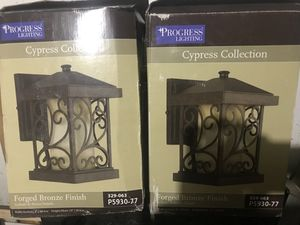 Progress Lighting Cypress Collection Forged Bronze Wall Lantern P5930-77 for Sale in Fort Washington, MD