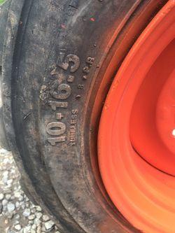 Skid Steer Bobcat Wheel Thumbnail