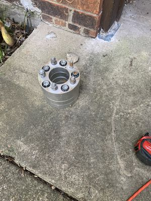 Photo 5 lugs, marquis, crown, Vic, 4.5inch, wheels, rims, 114.3mm, spacers,