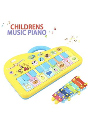 Baby Musical Toys, Piano Music Keyboard Toys for Infants, Toddler Piano Toys with Hand Knock Xylophone-Perfect Christmas Birthday Gift for Kids for Sale in Doral, FL