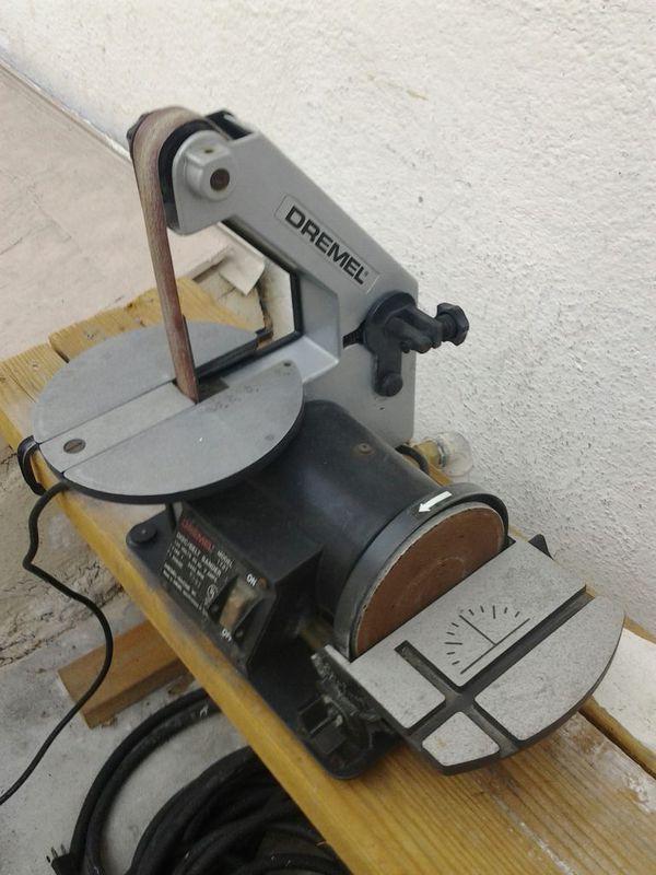 Dremel disc belt sander pvc threaded adapter