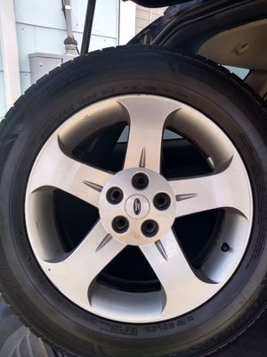 Rims and tires.235 65R18 . for Sale in Morristown, NJ