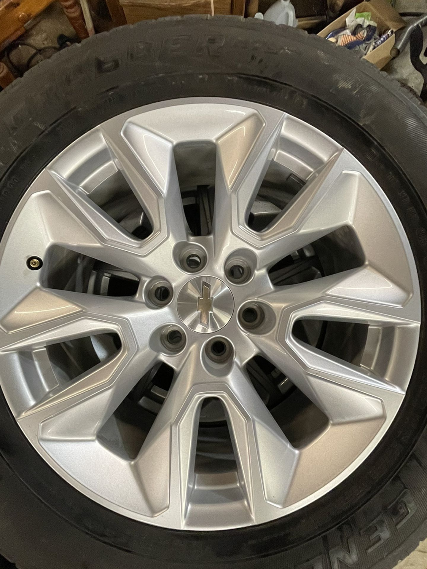 Wheelset Chevy