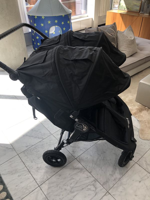 Never Used Baby Jogger City Mini Gt Double Stroller For Sale In Chicago Il Offerup