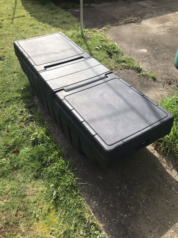 Black Pickup Tool Box