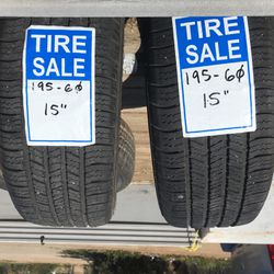 Tires For Sale  Thumbnail