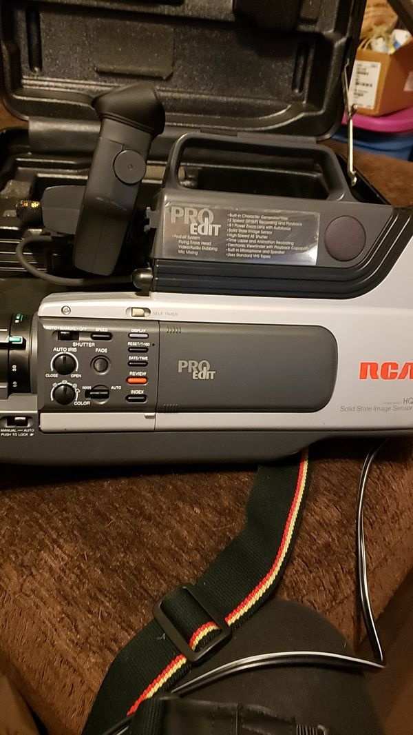 Rca Pro Edit Vhs Camcorder For Sale In Oregon City Or Offerup