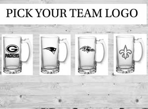 Beer Mugs~ 49ers, Broncos, Titans, Seahawks, Raiders, Saints, Cowboys, NFL, NBA, MLB, Red Sox, Ducks for Sale in Vancouver, WA