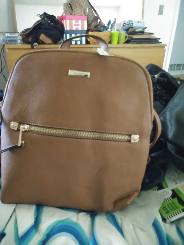 acc12ca26ba Aldo brown leather backpack for Sale in Oklahoma City